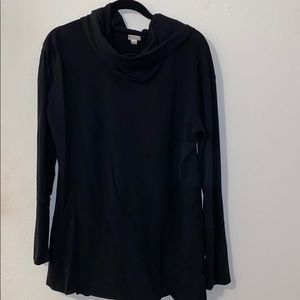 Cowell neck tunic sweater